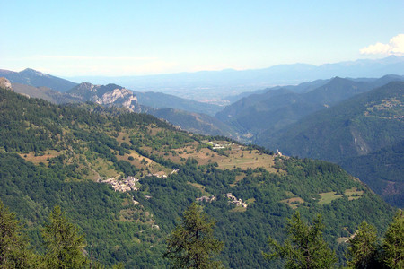 Vallone di Stroppo in Valle Maira
