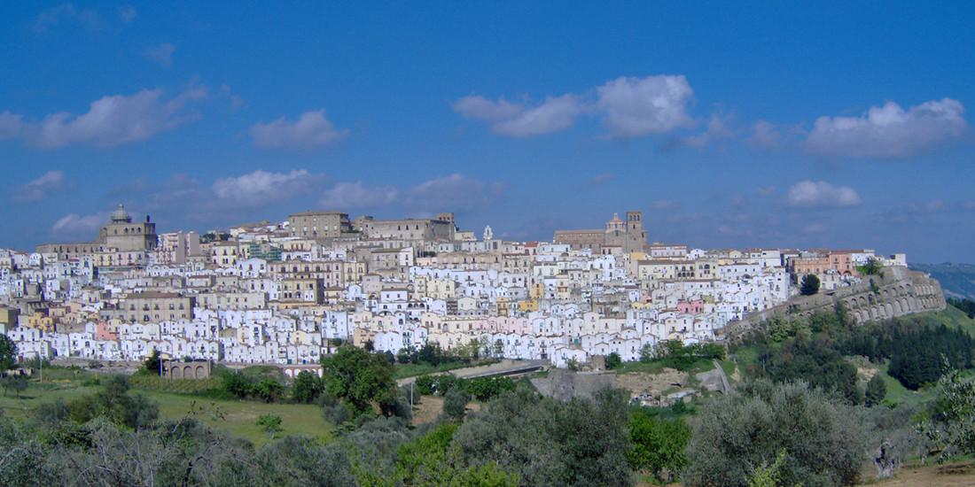 Veduta di Ferrandina, Matera, Basilicata