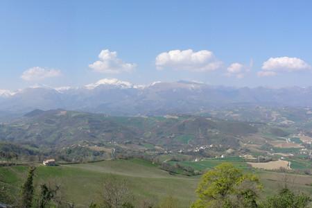 I Monti Sibillini da Smerillo
