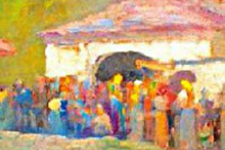 Federico Collino tra musica e pittura